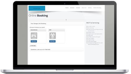 MOT & Service Booking Online